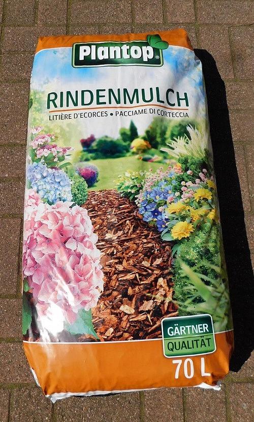 """Rindenmulch """"Plantop"""" 70l Sack,10-40mm Körnung"""
