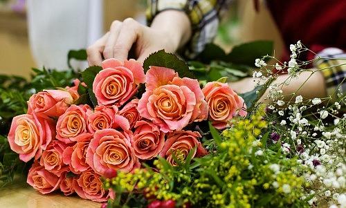 Schnittblumen-Bastelbund DIY (Wunsch Blumen)